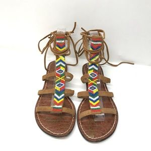 Sam Edelman Shoes - SAM EDELMAN Tribal Gladiator Sandals 7.5